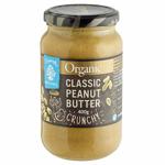 Chantal Organics Classic Crunchy Peanut Butter 400g