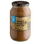 Chantal Organics Whole Peanut Butter Smooth 700g