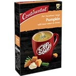 Continental Cup A Soup Sensations Pumpkin With Sour Cream & Chives 4 Pack