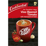 Continental Cup A Soup Sensations Vine-Ripened Tomato With Mascarpone & Basil 4 Pack