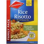 Diamond Rice Risotto Family Teriyaki Chicken 350g