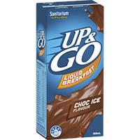 Sanitarium Up & Go Liquid Breakfast Chocolate Ice 350ml