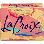 LA CROIX Sparkling Water Grapefruit 4260ml (355ml x 12pk)