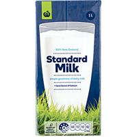 Woolworths UHT Milk Standard 1L