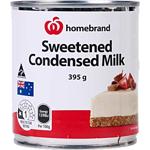 Homebrand Sweetend Condensed Milk 395g