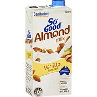 Sanitarium So Good UHT Almond Milk Vanilla Flavoured 1L