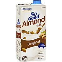 Sanitarium So Good UHT Almond Milk Original 1L