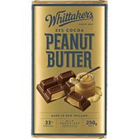 Whittaker's Peanut Butter 250g