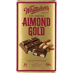 Whittaker's Almond Gold Block 250g