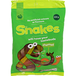 Woolworths Family Bag Snakes 220g