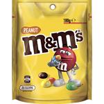 M&ms Pouch Peanut 180g