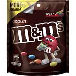M&Ms Pouch Milk Chocolate 345g