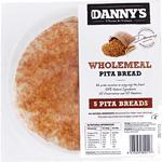 Danny's Pita Beard Wholemeal 5 Pack