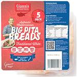 Giannis Pita Bread White 5 Pack