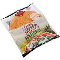 Romano's Crispy Pizza Bases Tomato & Herb 2 Pack Large 400g