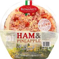 Romano's Pizza Ham & Pineapple 400g