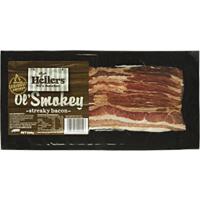 Hellers Bacon Streaky Smoky 250g