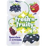 Fresh'n Fruity Yoghurt Berry Cream 6 Pack