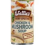Watties Very Special Soup Chicken & Mushroom 535g