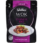 Watties Wok Creations Stir Fry Sauce Chinese BBQ 125g