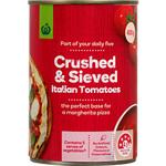 Countdown Tomatoes Italian Crushed & Sieved 400g
