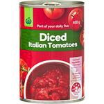 Countdown Tomatoes Diced Italian 400g