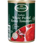 Delmaine Tomato Whole Peeled 400g