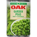 Oak Canned Vegetables Garden Peas In Minted Brine 420g