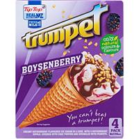 Tip Top Trumpet Boysenberry 4pk 440ml