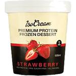 IsoCream Premium Protein Frozen Dessert Strawberry 500ml