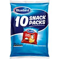 Bluebird Multipack Original Chips Salted 10 Pack