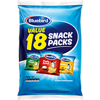 Bluebird Multipack Original Potato Chips Combo 18 Pack