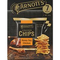 Arnotts Cracker Chips Honey Soy Chicken Multipack 126g