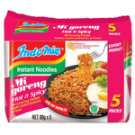 Indomie Hot & Spicy Noodles 400g (80g  x 5pk)
