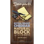 Dairyworks Extra Sharp Block 180g