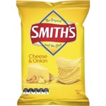 Smith's Share Pack Crinkle Cut Cheese & Onion 170g