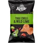 Kettle Thai Chilli & Lime Potato Chips 150g