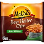 McCain Beer Batter Chips Shoestring 750g