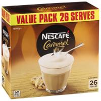 Nescafe Cafe Menu Caramel 26 Pack