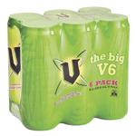 V Energy Drink 2.13L (355ml x 6pk)