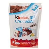 Kinder Chocolate Minis 120g (20 Pack)