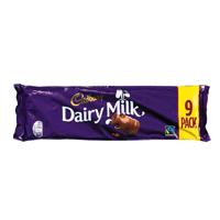 Cadbury Dairy Milk 32.5g 9 Pack