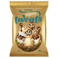 Whittaker's Tweats Popping Candy Mini Slab  180g