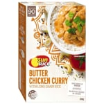 SunRice Butter Chicken Curry with Long Grain Rice 350g