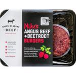 Green Meadows Beef Angus Beef & Beetroot Burgers 400g