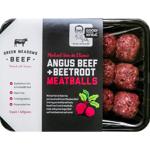 Green Meadows Beef Angus Beef & Beetroot Meatballs 400g