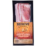 Beehive Sweet & Smokey Streaky Bacon 250g