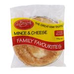 La Baguette Family Favourites Mince & Cheese Pie 515g