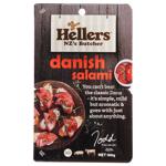 Hellers Sliced Danish Salami 100g