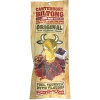 Canterbury Biltong Air-Dried Original Coriander Pepper Beef Snacks 100g